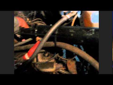 Gas Vapour Run 350 V8 perfect