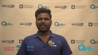 Quafit Aquatic Fitness Instructor Course Testimonial  - Batch 1 (2018)