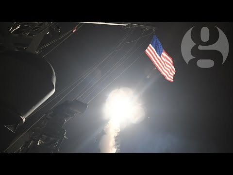 Donald Trump's Syria airstrikes: the world reacts