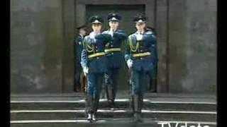 Смена караула у мавзолея В.И. Ленина