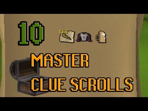 10 Master Clue Scroll LOOTS | Oldschool Runescape