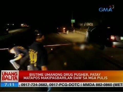 Bigtime umanong drug pusher, patay matapos makipagbarilan daw sa mga pulis