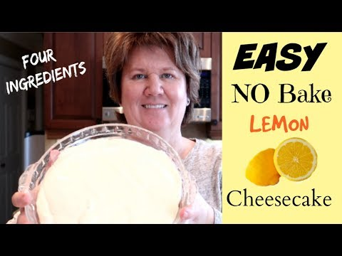 🍋 NO BAKE CHEESECAKE Using Sweetened Condensed Milk - RECIPE Tutorial STEP By STEP  🍋