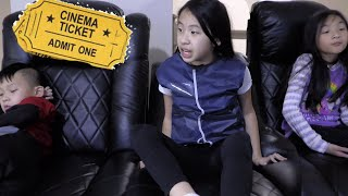 Pretend Play Police Mystery Theater Seat Problem