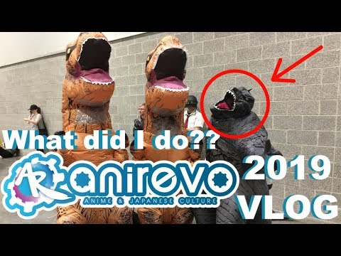What Did I Even Do At This Con? Anirevo/Anime Revolution 2019 Long Vlog & Haul Pick Ups