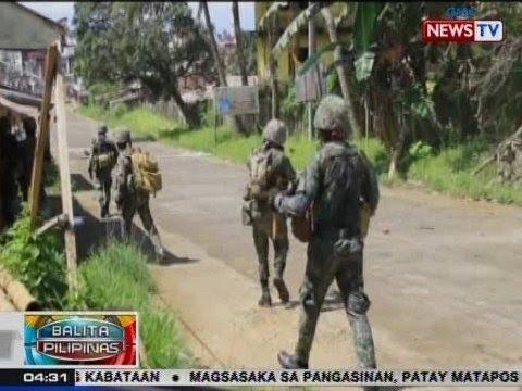 BP: PHL Marines, nilusob ang kuta ng Maute group sa Marawi City