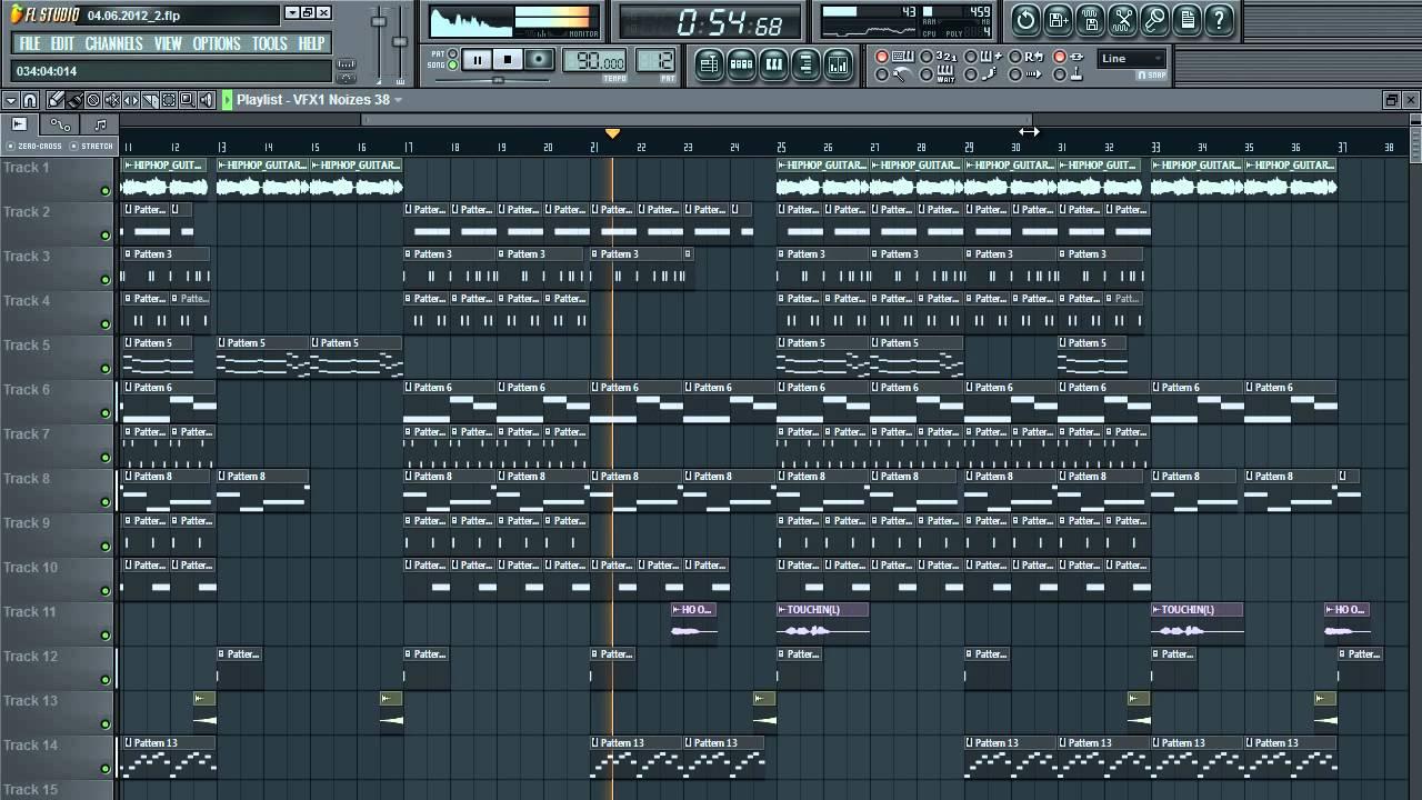loops fl studio hip hop