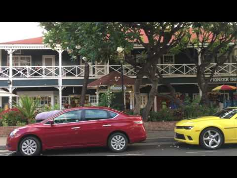 Old Town Lahaina in Maui Hawaii