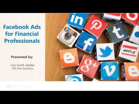 The Fundamentals Of Facebook Ads For Accountants And Financial Professionals | CPA Site Solutions