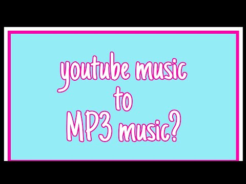 HOW TO CONVERT YOUTUBE TO MP3 MUSIC BY Jeah Abapo