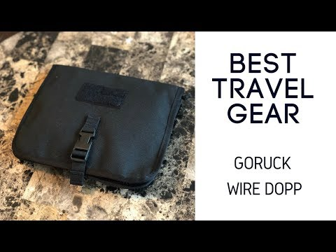 Best EDC and Travel Organization: Goruck Wire Dopp Review