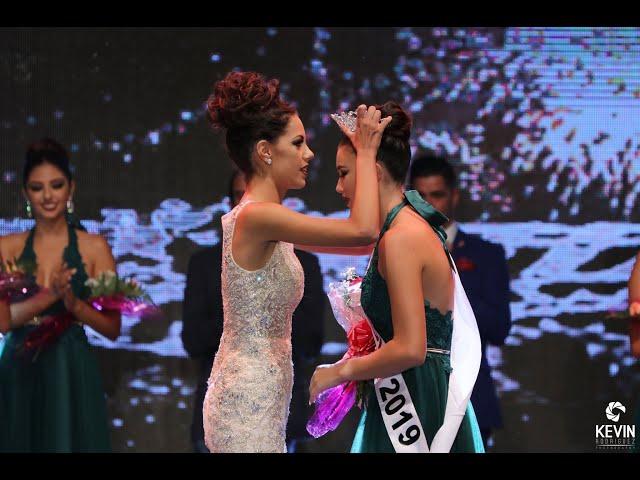 coronación Miss Sur 2019 y entrevistas finales