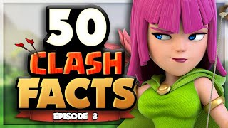 50 Clash of Clans FACTS that YOU Should Know! - Episode 3