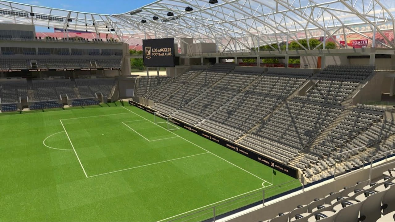 Field Views In Banc Of California Stadium Youtube