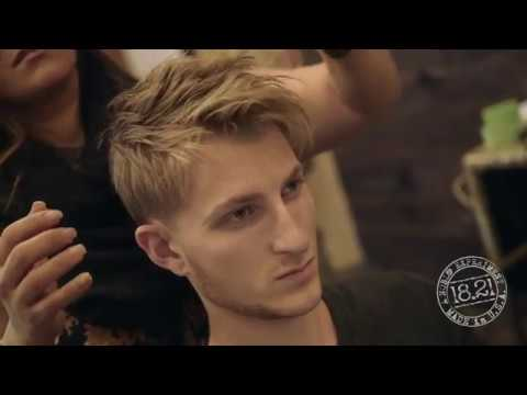 Mens Natural Hair Style by Angela Henning
