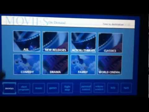 United 767-400 Inflight Entertainment (IFE)