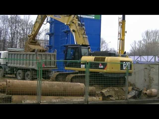 Cat 336D L with Kucurek modular boom Travel Video