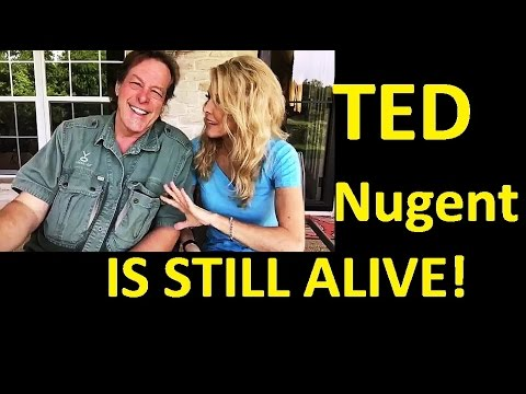 TED NUGENT LIVE AND WELL NOT IN HUNTING ACCIDENT!  DID NOT DODGE DRAFT AND MORE!