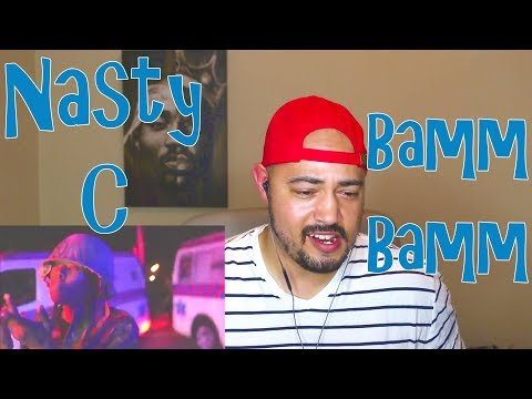 Nasty C - Bamm Bamm Official Music Reaction