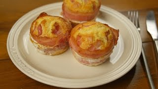 figcaption 베이컨에그 머핀 만들기 - baking bacon egg muffin