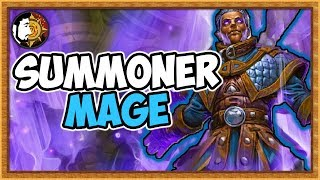 Hearthstone: Summoner BIG Mage Is Super FUN - Rise Of Shadows