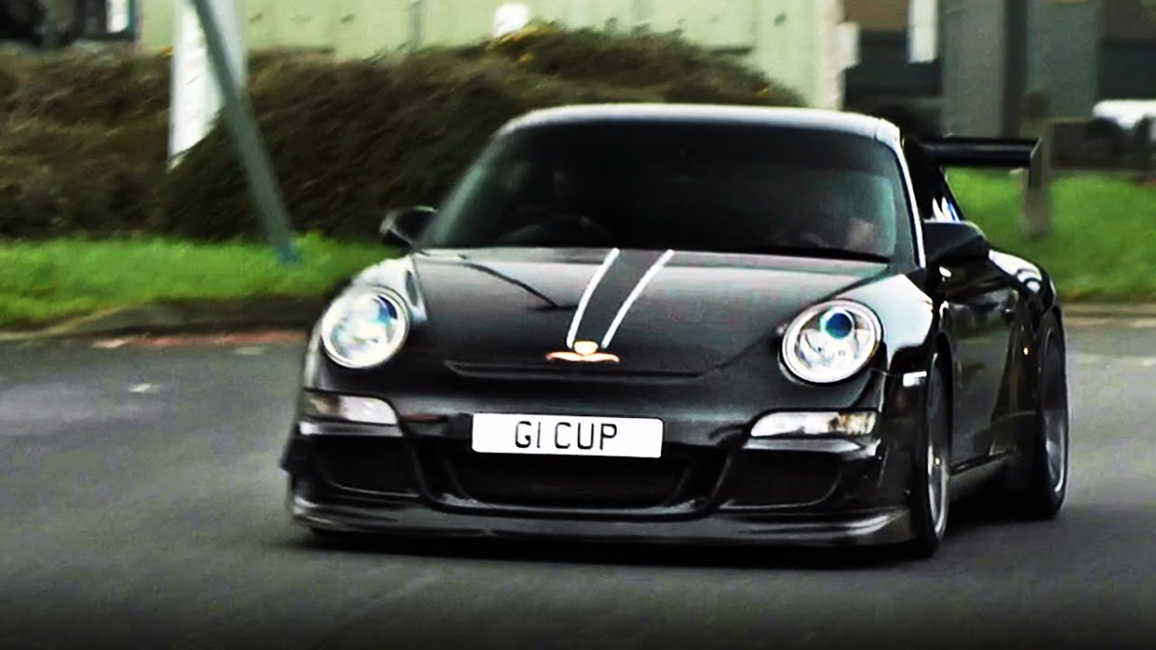 Porsche 997 Carrera Cup for the road - INSANE revs and accelerations!!