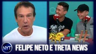 New York Treta dá entrevista ao Pânico e revela o que o Felipe Neto fez através da Justiça
