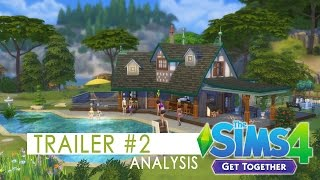 The Sims 4 Get Together - Trailer #2 Analysis
