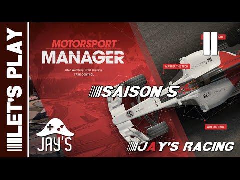 [FR] Motorsport Manager - Jay's Racing - Saison 05 - GP Vancouver - Épisode 11