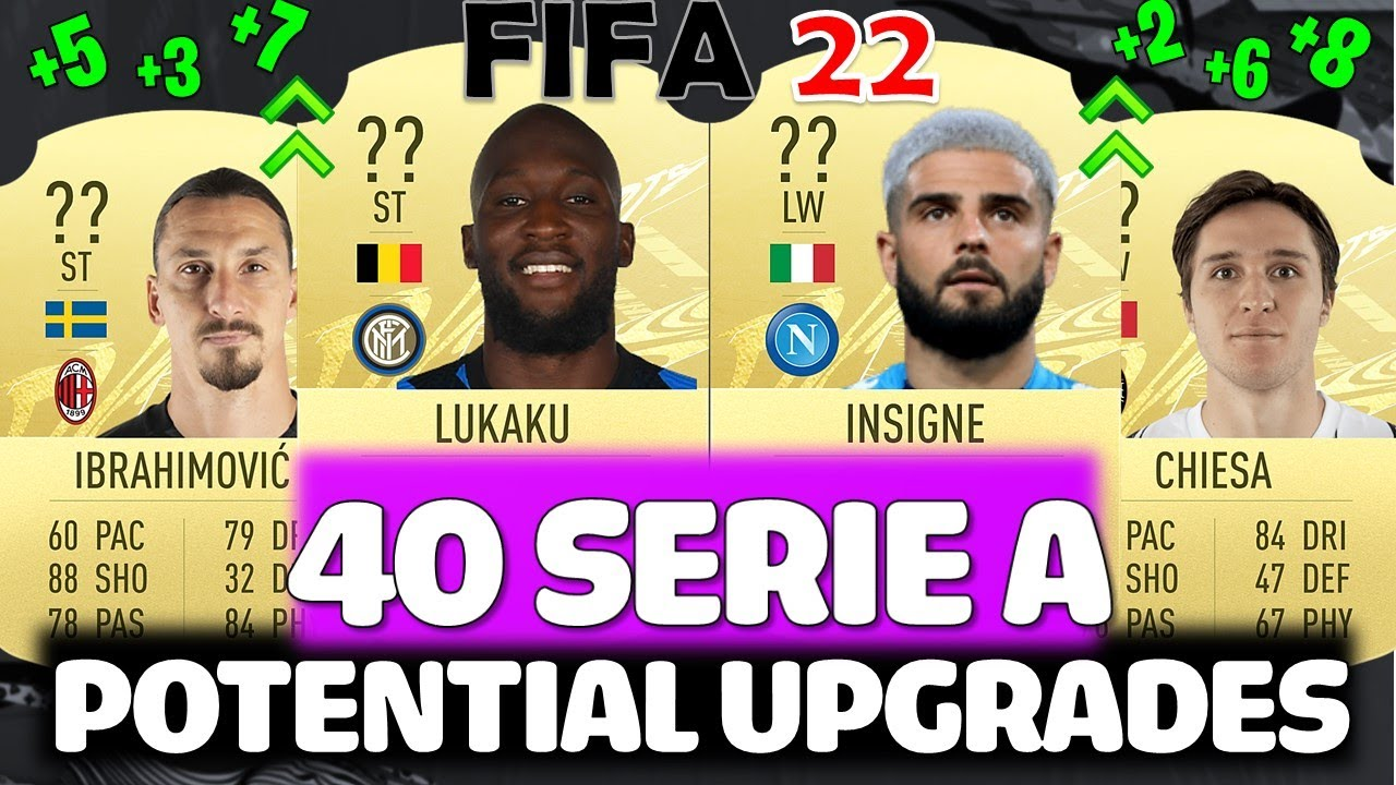 FIFA 22 | 40 SERIE A UPGRADES PREDICTIONS!! FT. LUKAKU, IBRAHIMOVIC, INSIGNE ETC (FIFA 22 UPGRADES)