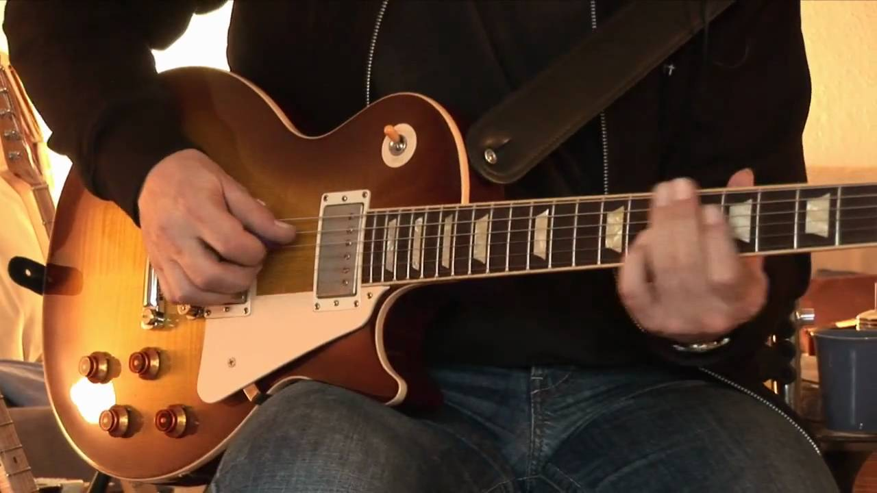 2005 Gibson Les Paul Std. Plus plus Okko Diablo Overdrive Pedal