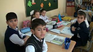 Открытый урок школа 76 город Баку