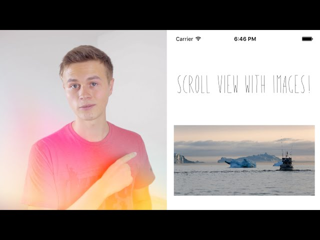 Scroll View w/ Images! (Image Literals : Swift 3 in Xcode 8
