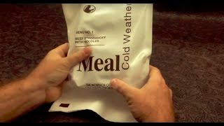 2016 Meal Cold Weather MCW Review Menu 1 Beef Stroganoff