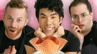 The Try Guys Make Waffle Cones Without A Recipe