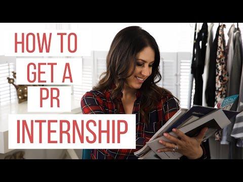 How To Get A Pr Internship The Intern Queen Youtube