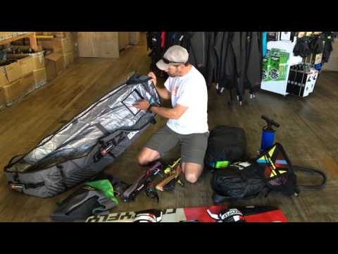 Kiteboarding:  How To Pack A Bag For Your Next Trip
