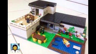 Como Construir uma Casa Grande de Lego!!! Especial de 1000 inscritos!!!