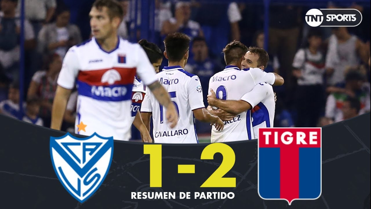 Resumen de Vélez Sarsfield vs Tigre (1-2) | Fecha 21 - Superliga Argentina 2018/2019