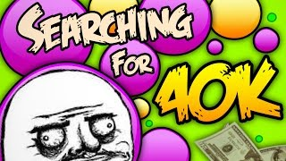 Agar.io Fun | Searching For 40K