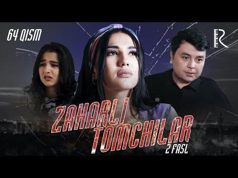 Zaharli tomchilar (o'zbek serial)   Захарли томчилар (узбек сериал) 64-qism #UydaQoling