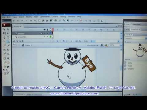 ทำสติกเกอร์ดุ๊กดิ๊กง่ายๆ ใน 10 นาที ( Make Animation Sticker 10 minute)