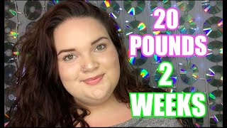 How I Lost 20 Pounds In 2 Weeks : Keto Diet + Weightloss Update