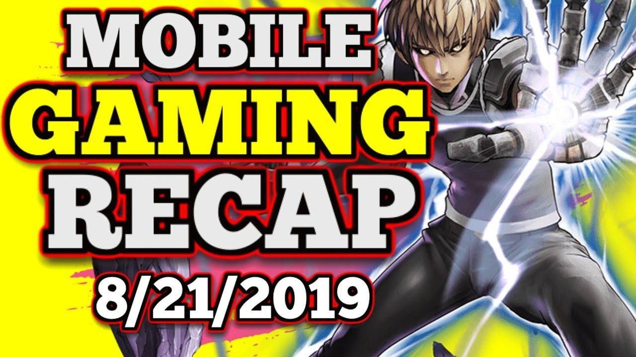 Mobile GAMING Recap : One Punch Man : Road to Hero, Perfect World Mobile,  Gears POP!