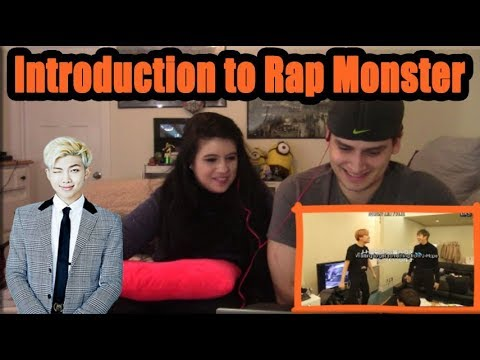 """""""An Introduction to BTS: Rap Monster Version"""" 
