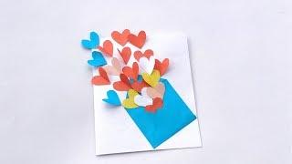 Download lagu Valentine s Day Card Idea DIY Pop Up Card for Valentine s Day MP3