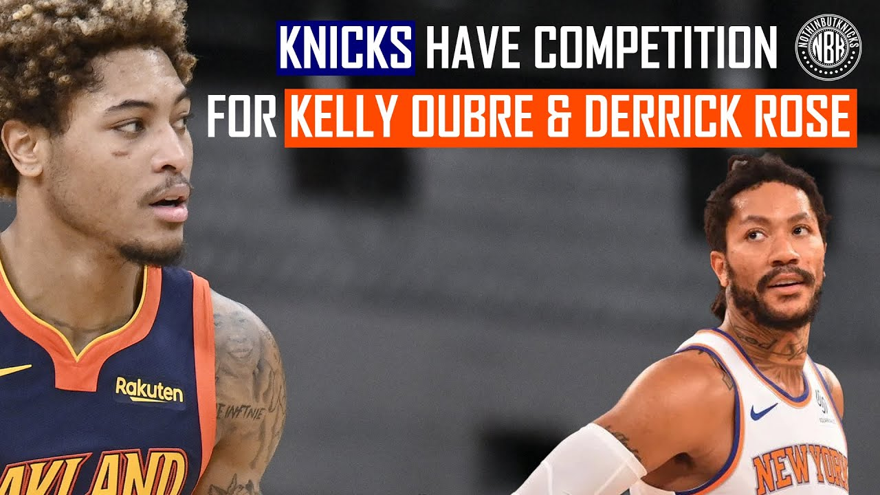 """Download The New York Knicks have """"Serious"""" competition for Kelly Oubre Jr. and Derrick Rose"""