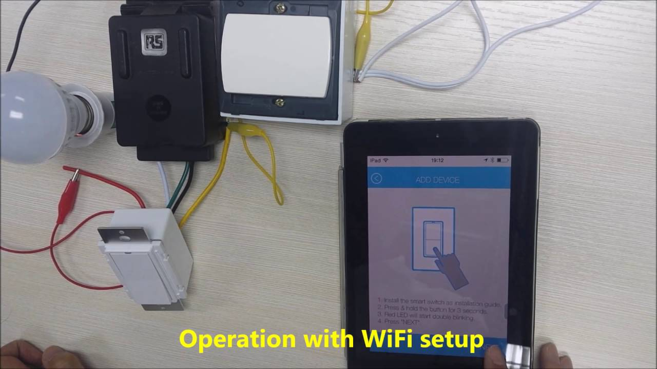 Elp Wifi Smart Switch Wiring And Setup Guide Youtube