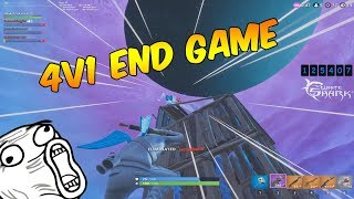 🔥 i BROUGHT THE 1v4 at the END! MARSHMELLO SKIN DISPASS 🔥 | FORTNITE