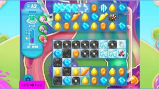 Candy Crush Soda Saga Level 1256 NO BOOSTERS Cookie